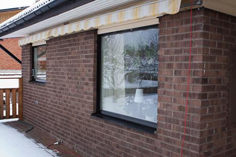 Trä/alu vridfönster TopSwing från Ekstrands