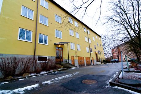 Ekstrands fönster i Stockholm