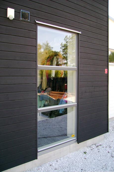 Sverige Fönster fast fönster med glasdelande poster