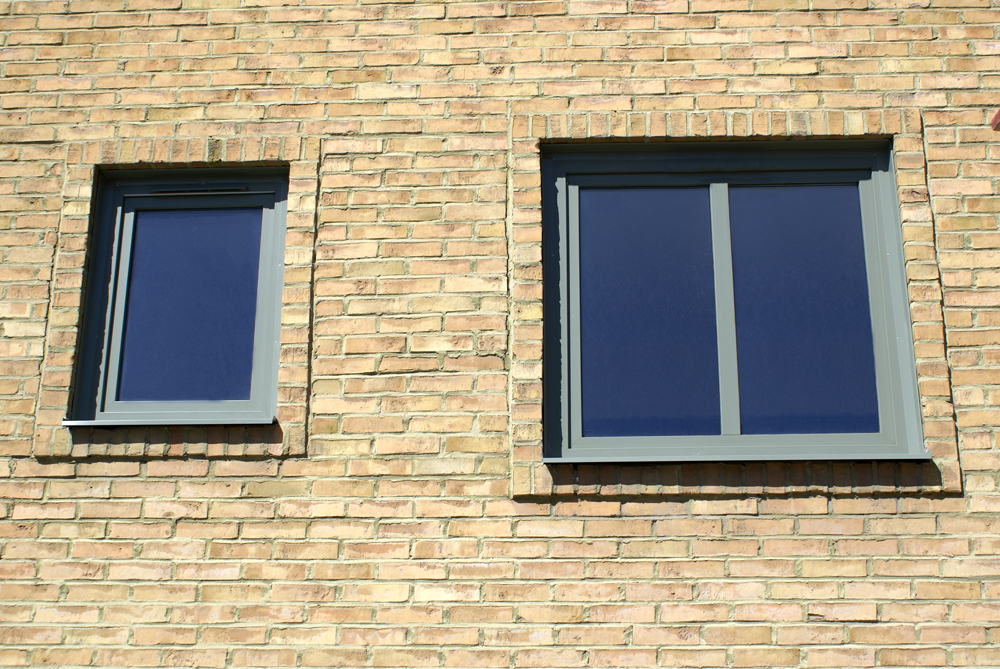 Underhållsfria PVC fönster i kulör