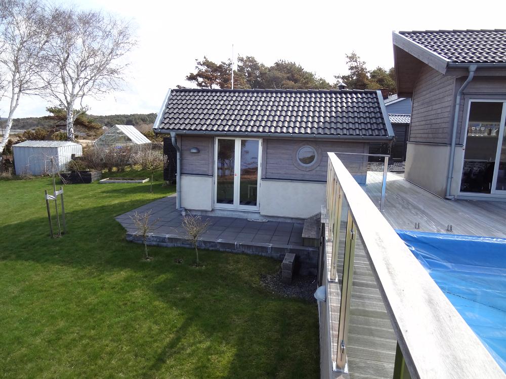 Utåtgående parfönsterdörr i trä/alu från Ekstrands