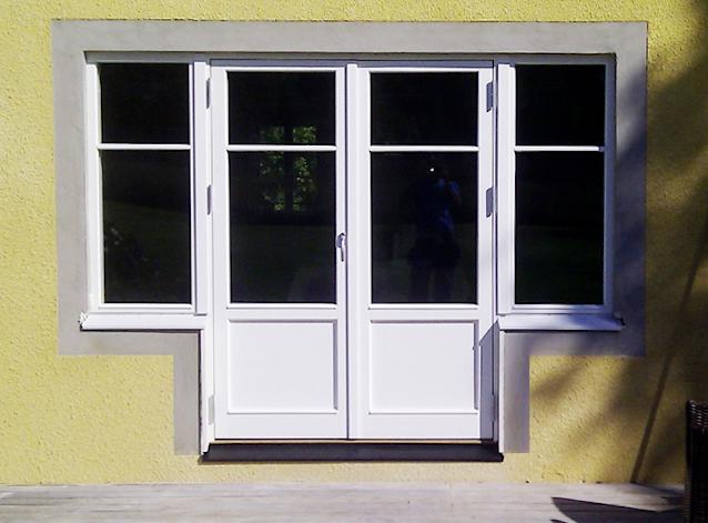 Efter installation av Ekstrands fönster och utåtgående parfönsterdörr