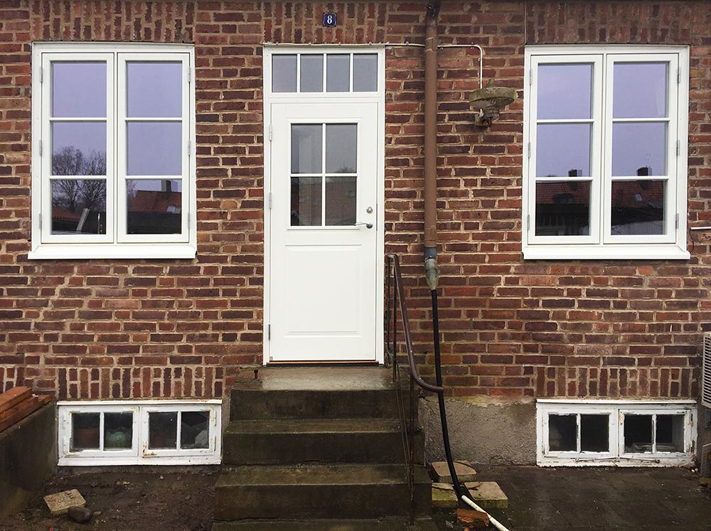 Ekstrands dörrar och fönster efter byte i Helsingborg