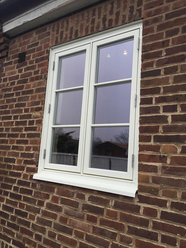 Ekstrands fönster efter fönsterbyte